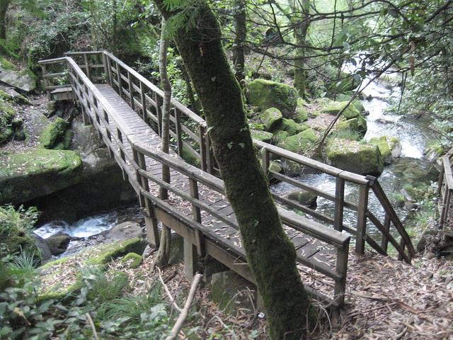 Puente en el río San Xusto en Lousame
