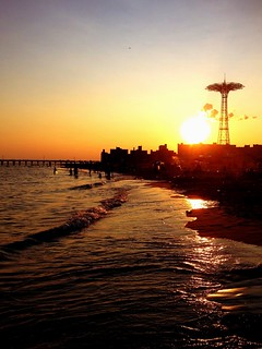 Late Summer Sunset - Coney Island - Brooklyn - New York City | by Vivienne Gucwa