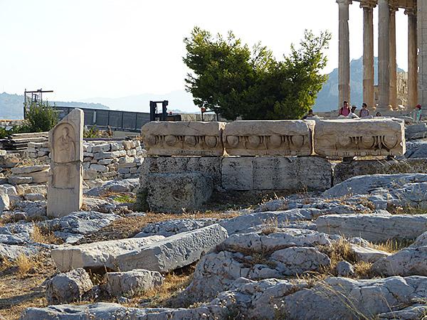morceaux de colonnes