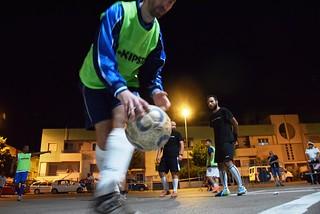 Noicattaro. Street Soccer al parco front