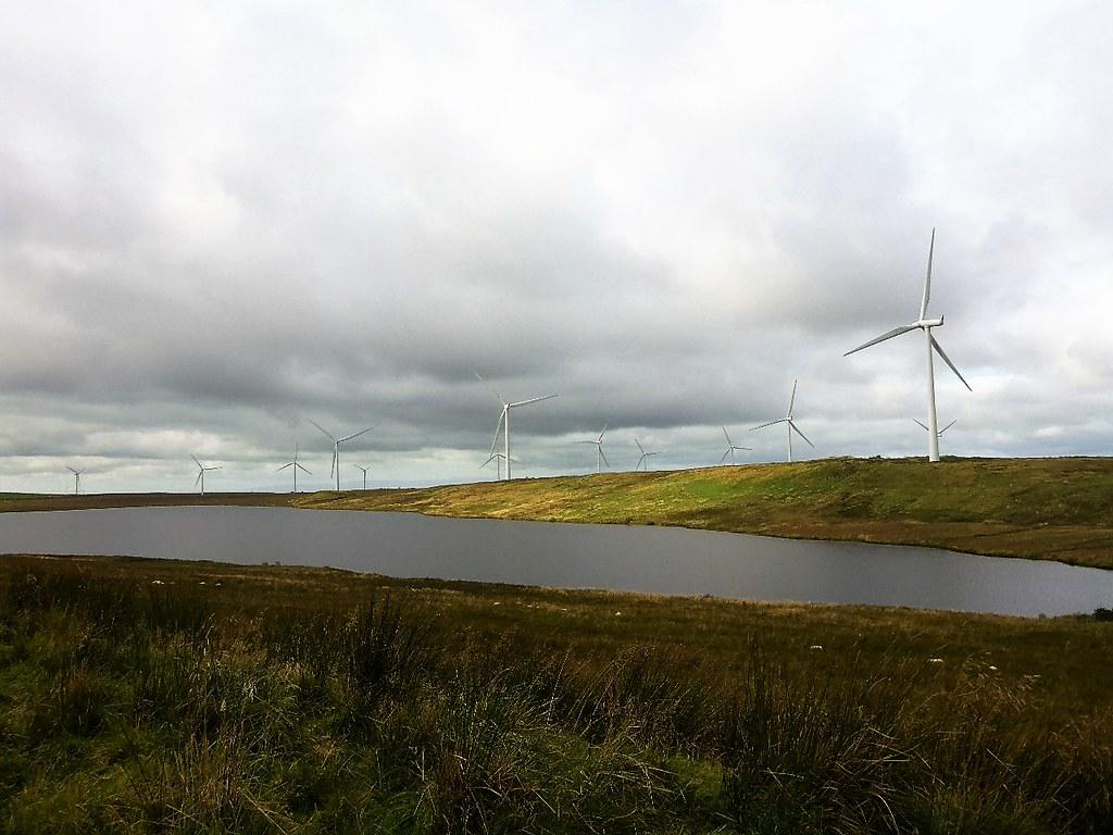 Lochgoin, Whitelee Windfarm, Scotland.