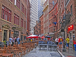 Stone St, lower Manhattan | by Steve from NJ
