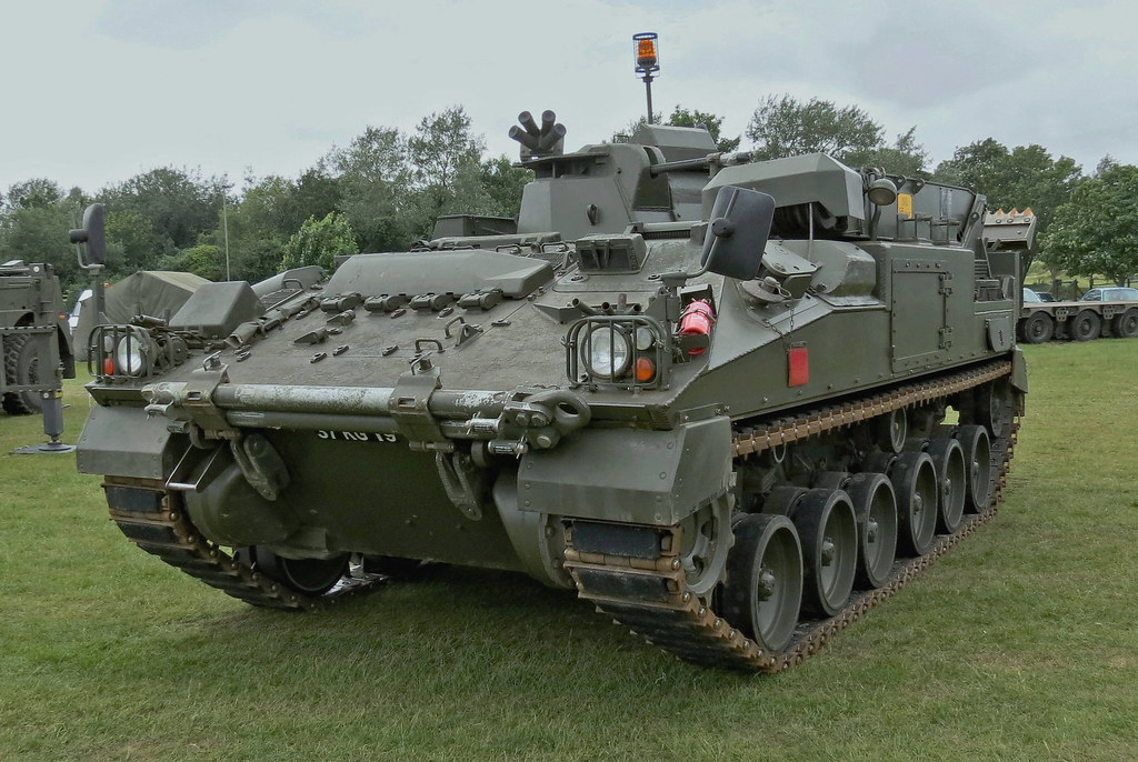 Warrior Fv513 Mechanised Recovery Vehicle Repair Dave