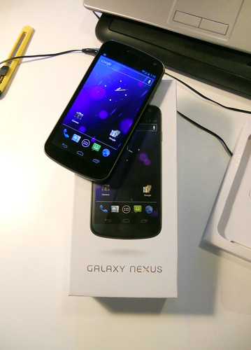 Samsung Galaxy Nexus: unboxing