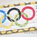 Olympics mug rug