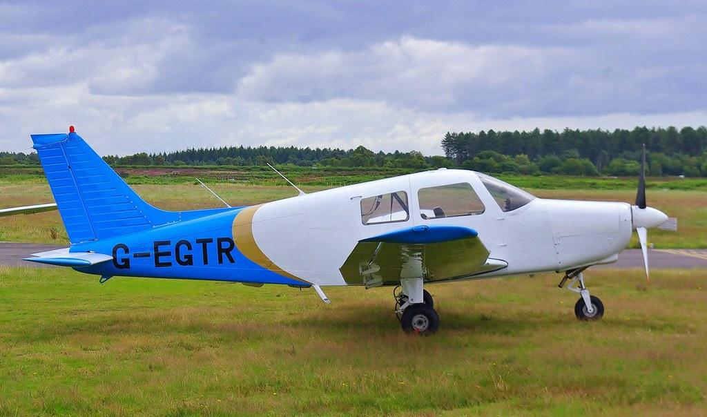 GEGTR Piper Pa28 Cadet  19th July 2012  Operator  Avia  Flickr