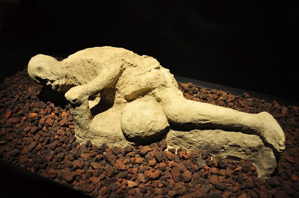 Plaster Cast Body - A Day in Pompeii - Cincinnati   Brian ...