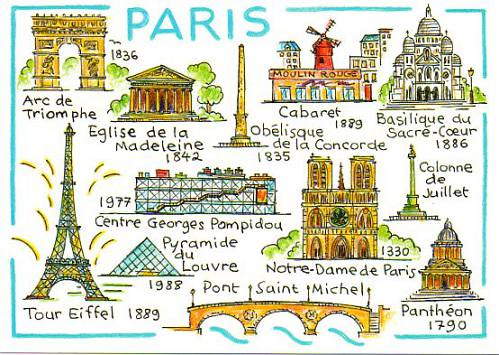 Paris drawing | Jina Sensei | Flickr