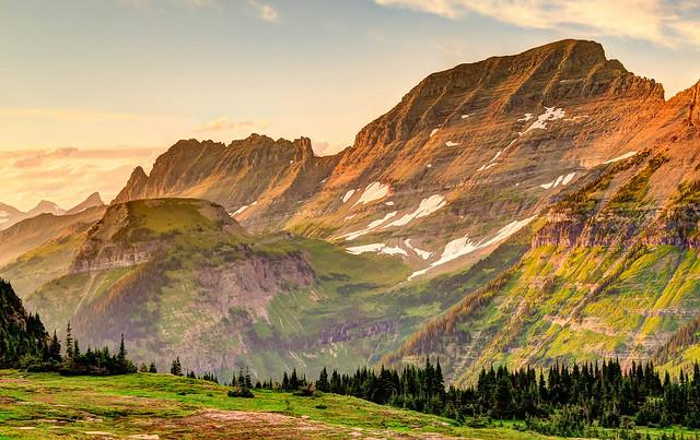 Glacier National Park The Garden Wall Flickr Photo Sharing