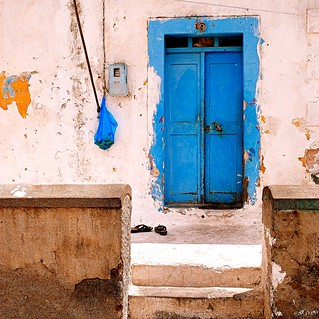 the blue door | by mujepa