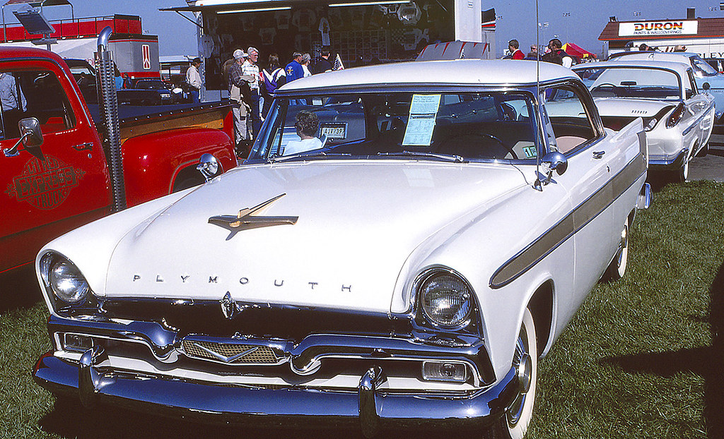 1956 Plymouth Fury At The 1993 Charlotte Autofair At Charl Flickr