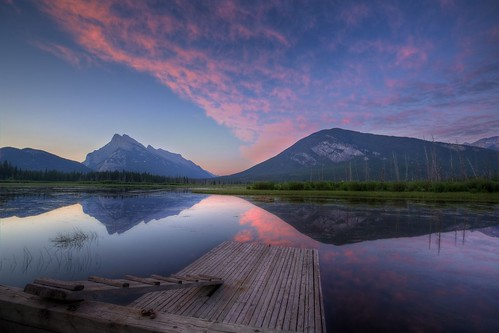 Vermillion Lake at Sunrise | by edwademd
