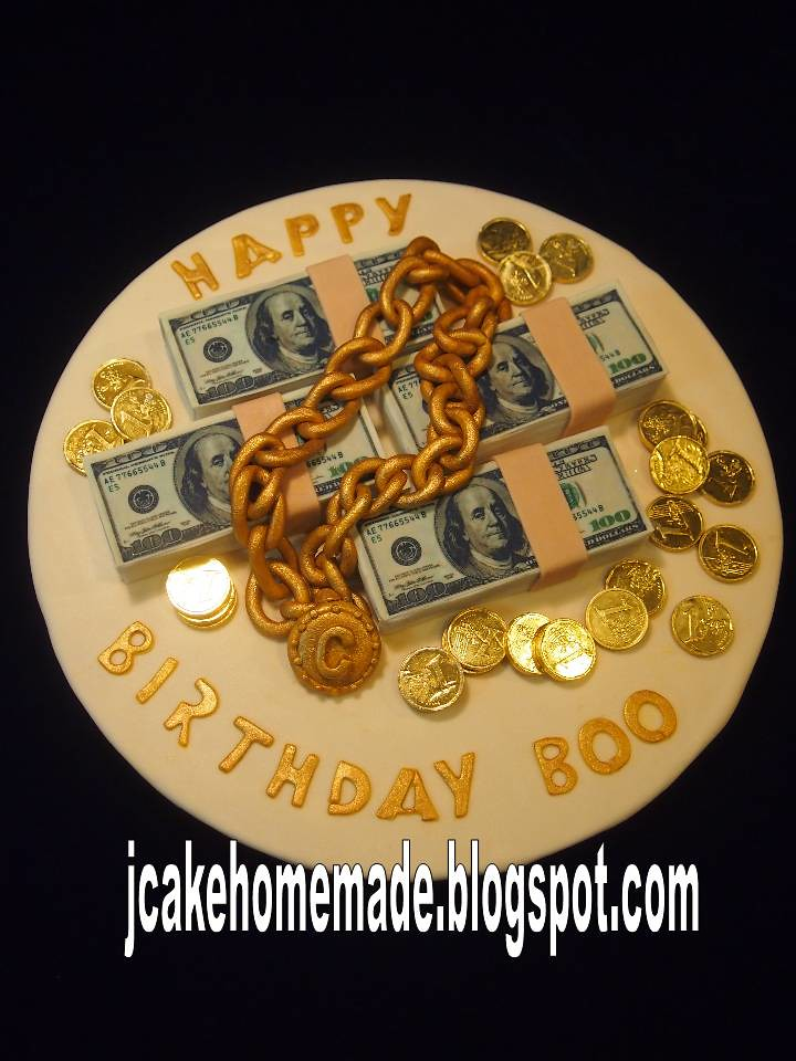 Stack Of Money Cake Happy Birthday Boo Thanks Lovelee