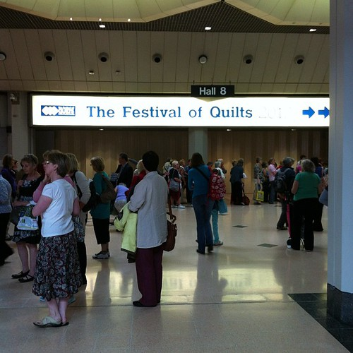 Day 2. Let the mayhem commence! #festivalofquilts | by flossyblossy