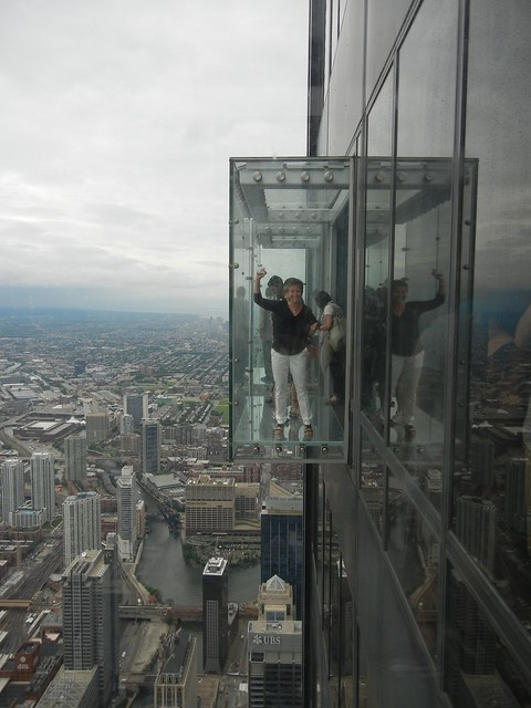Glass Balcony at Willis (Sears) Tower | Flickr - Photo ...