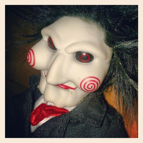 I wanna play a game... #saw #jigsaw #doll #toy #puppet #Bi ...