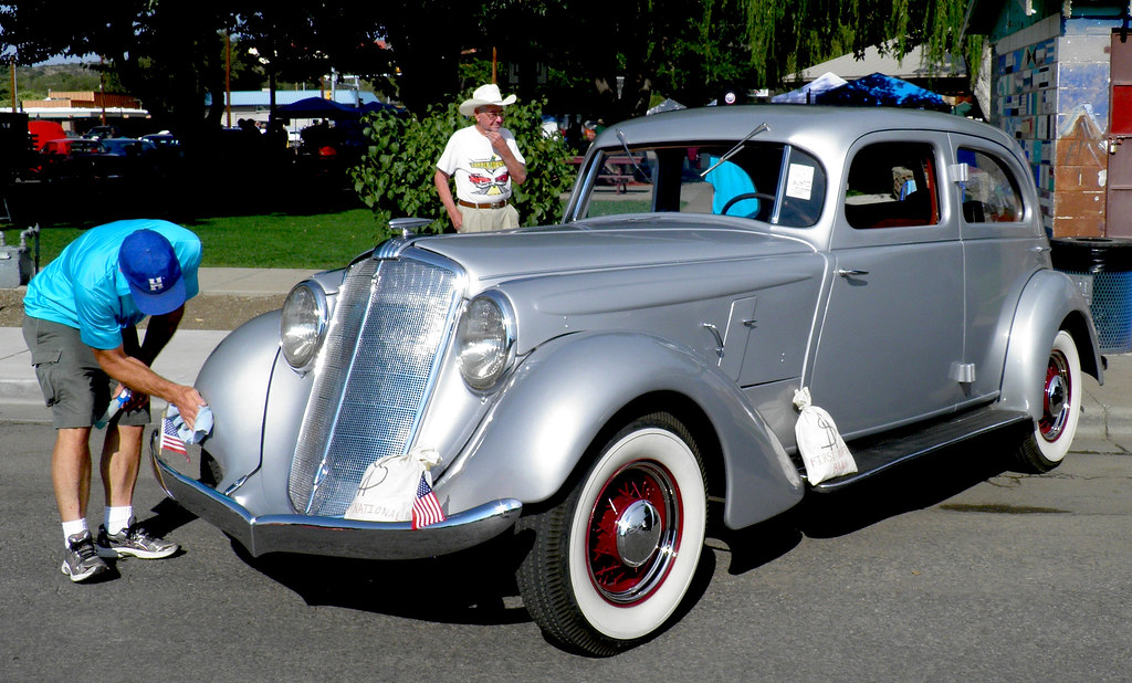 1935 Hupmobile Exhibited At The Copper Country Cruizers