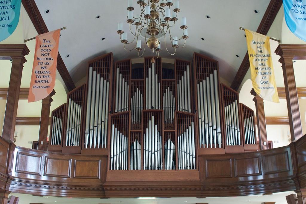 The Pipe Organ In Seymour St. John Chapel, Choate