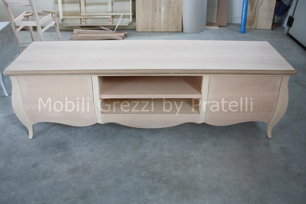Mobili credenza grezzi ispirazione design casa for Mobili grezzi on line