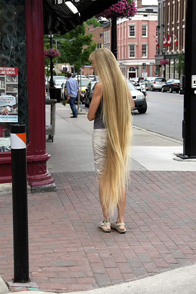 Lady With Long Hair #3 | the third photo from the Long ...