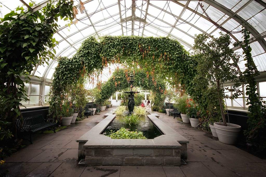 Haupt Conservatory New York Botanical Garden Spring 20