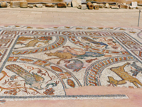 mosaïque musée archéologique de Naxos