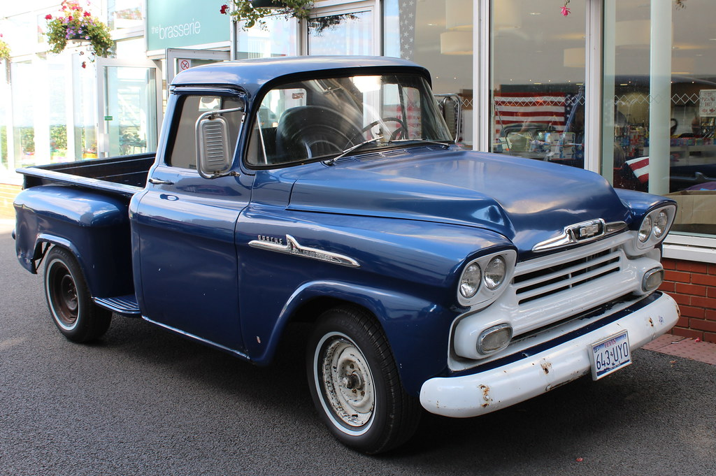 1958 Chevrolet Apache 31 Pick Up Buster Lang S All America