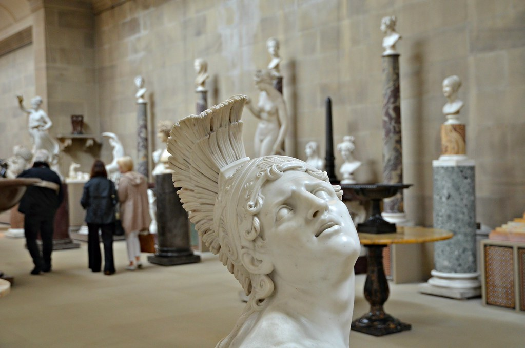 The Wounded Achilles The Sculpture Gallery Chatsworth Ho