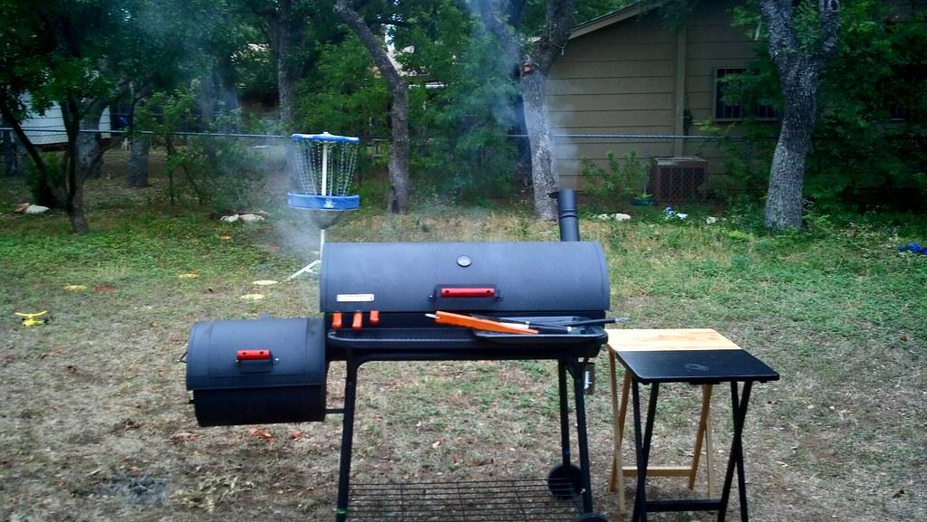 Landschap afbeelding BBQ Smoker