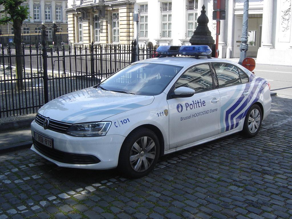 Brussels Volkswagen Jetta Quot Police Politie Quot Police Cars