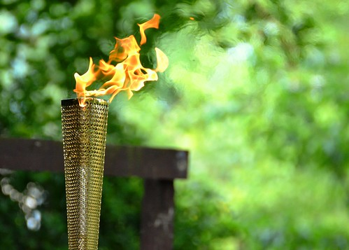 Welcome to the Olympic Torch | by pallab seth