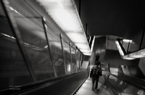 Underground : into Platform Métro Auber | by Le Xuan-Cung