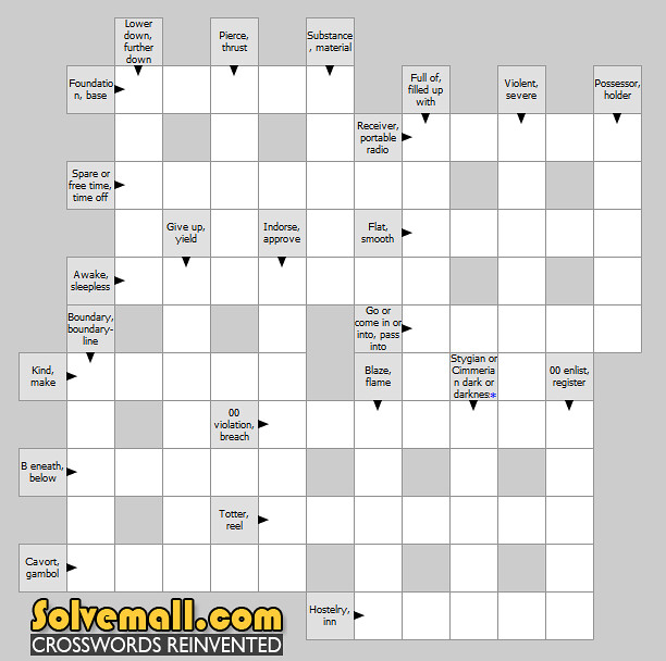 synonym crossword by solvemallcom