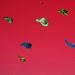 kites on red