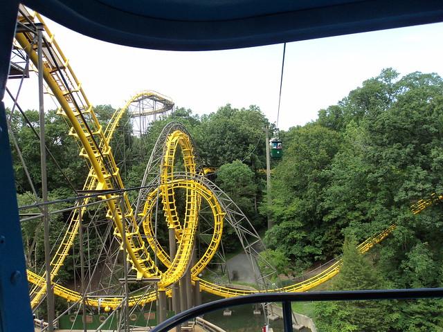 2012 07 31 Busch Gardens Williamsburg Skyride From