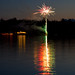 Wedding Fireworks at Ness Lake