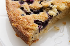 Simple Blueberry Cake