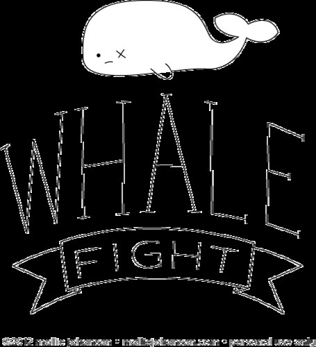 Whale Fight! | by wildolive