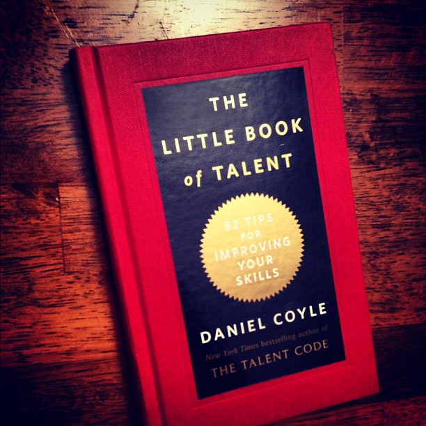 The Little Book Of Talent Pre Release Arrived Today Its Flickr