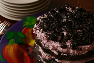 blackberry oreo cake 7 | by crumblycookie