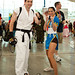 Chun Li & Ryu at Comic-Con SDCC 2012