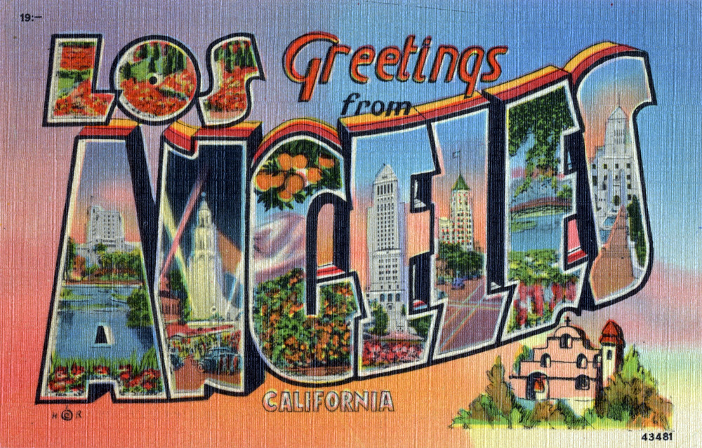 Greetings from los angeles california large letter post flickr greetings from los angeles california large letter postcard by shook photos m4hsunfo