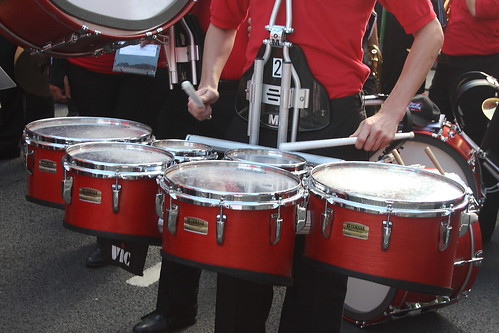 cylindrical drums 08 tenor drums set of mansfield marchi flickr. Black Bedroom Furniture Sets. Home Design Ideas