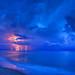 Lightning-Storm-at-Beach-Over-the-Atlantic-Ocean