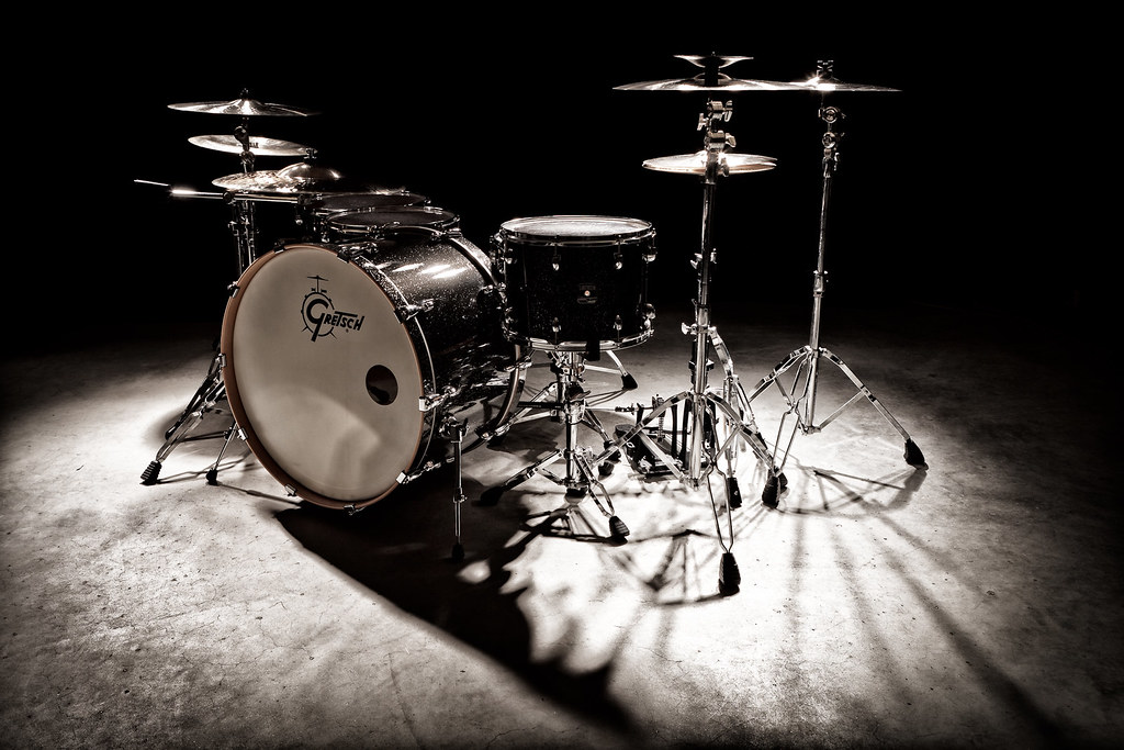Drums Gretsch Drum Kit Follow Me On Facebook My Website Flickr