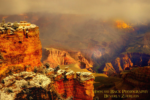 GRAND CANYON ... Foggy morning | by Aspenbreeze
