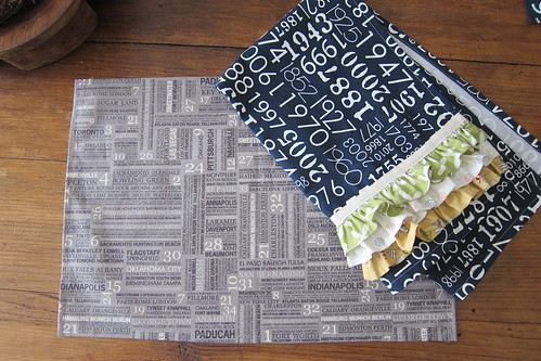 Reunion placemats/towel | by a maiden hair fern