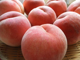 white peach has arrived from Sanjo | by closer and closer to Ackely