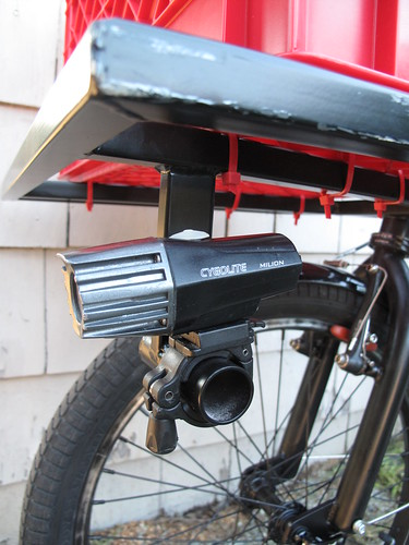 CycleTruck Custom Light Mount | by Andrew_Squirrel