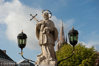 Statue of John Nepomuc on the Nepomucenusbridge | by www.chriskench.photography